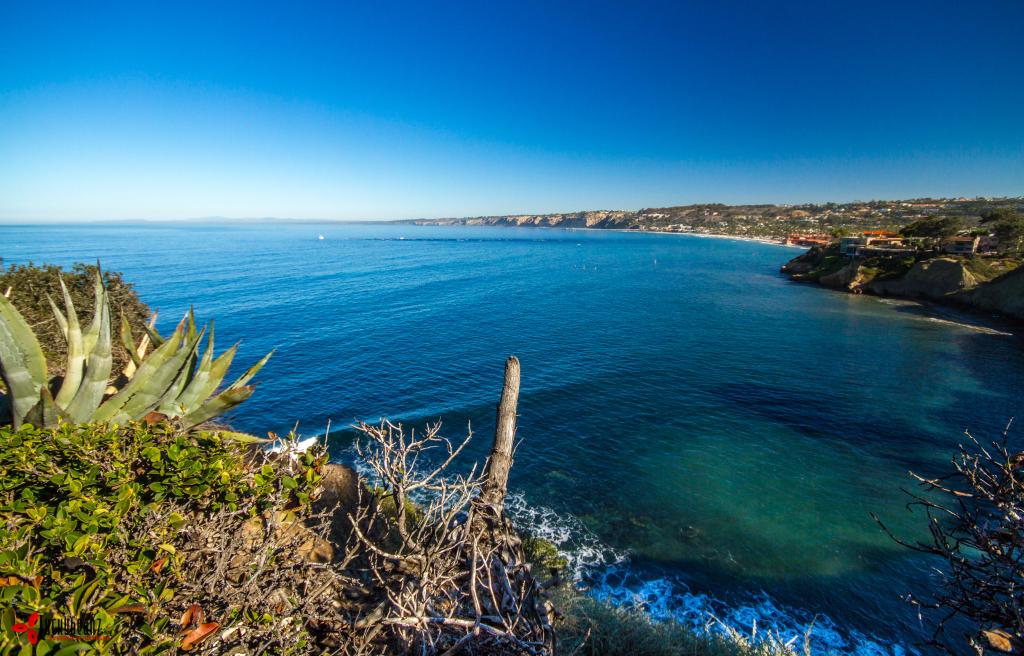 View over La Jolla Shores