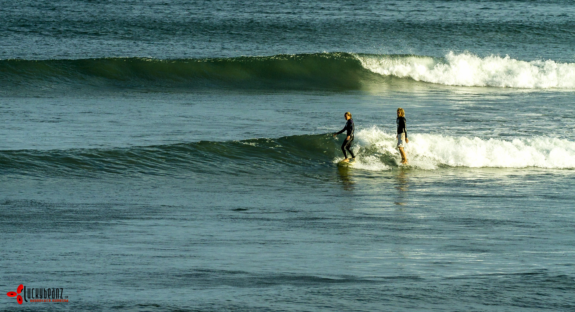 Surf lessons on your own private wave.