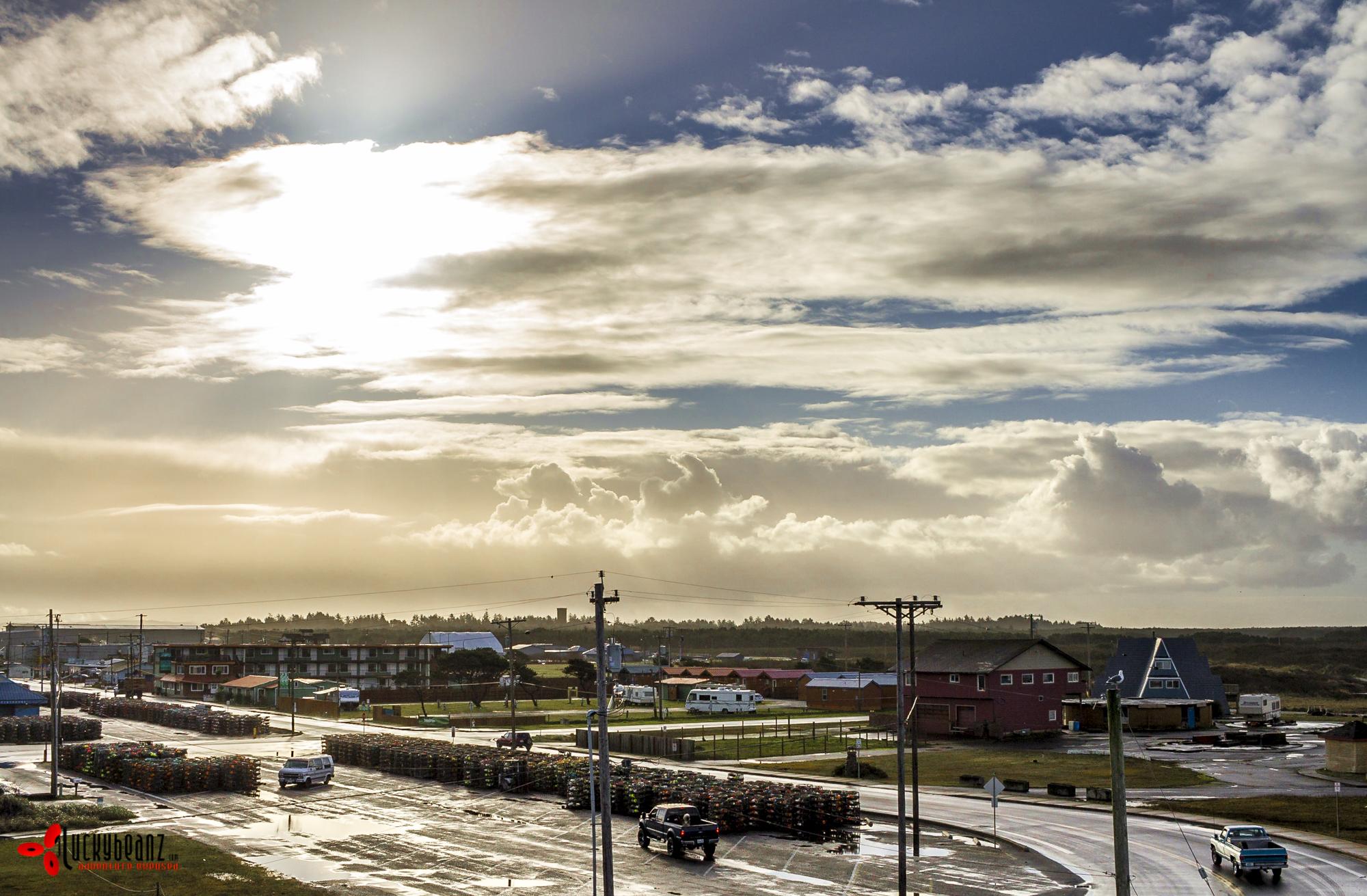 View of Westport.