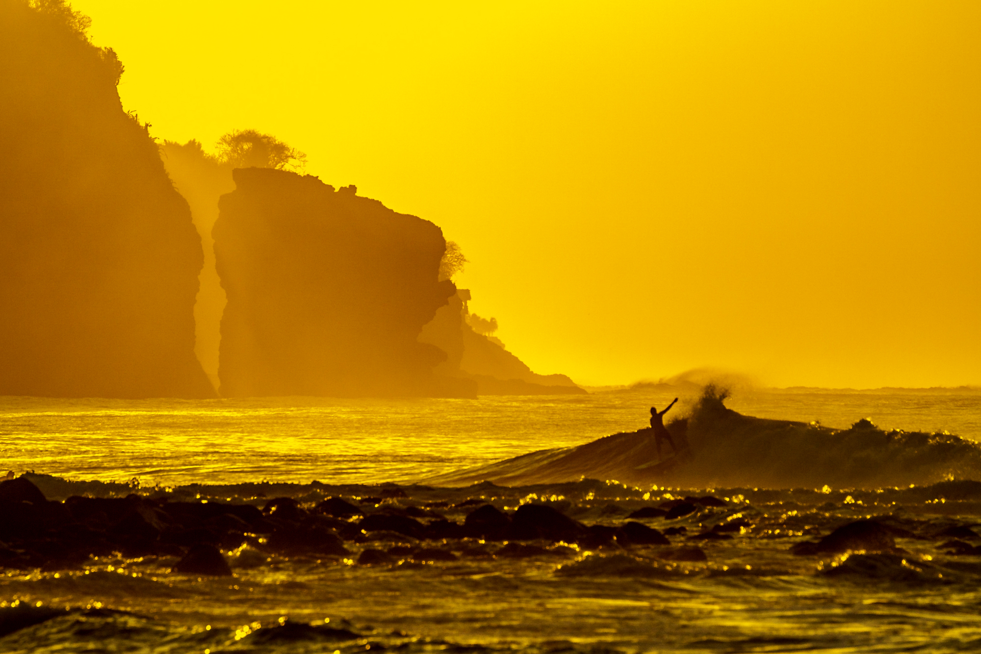 Sunrise Surfer.